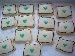 Sugar Cookies-made to look like the state of Oregon! Submitted by maiah03