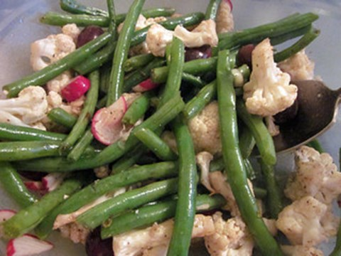 Cauliflower & Green Bean Salad