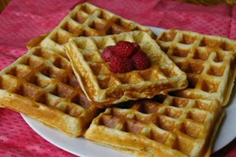 Best ever waffles
