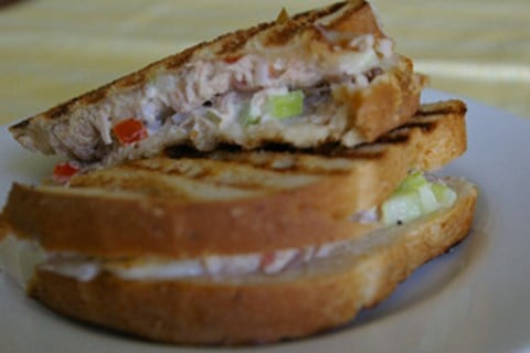 Grilled Tuna Melts