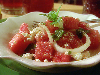 watermelon, mint salad Submitted by mikemantx