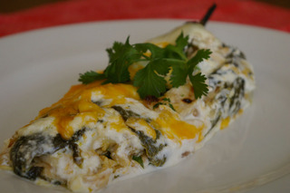 Amazing Stuffed Poblano Peppers Submitted by MHC