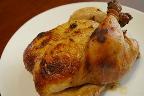 Cornish Hens with Simple Marinade