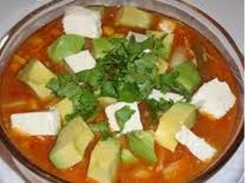 Chicken & Cheese Enchilada Soup