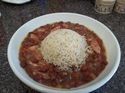 Red Beans and Rice with Sausage - 8 Cups