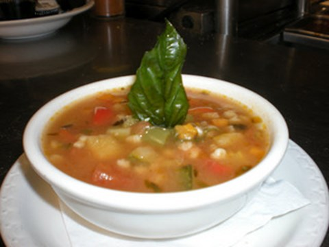 Cold Night Minestrone Soup